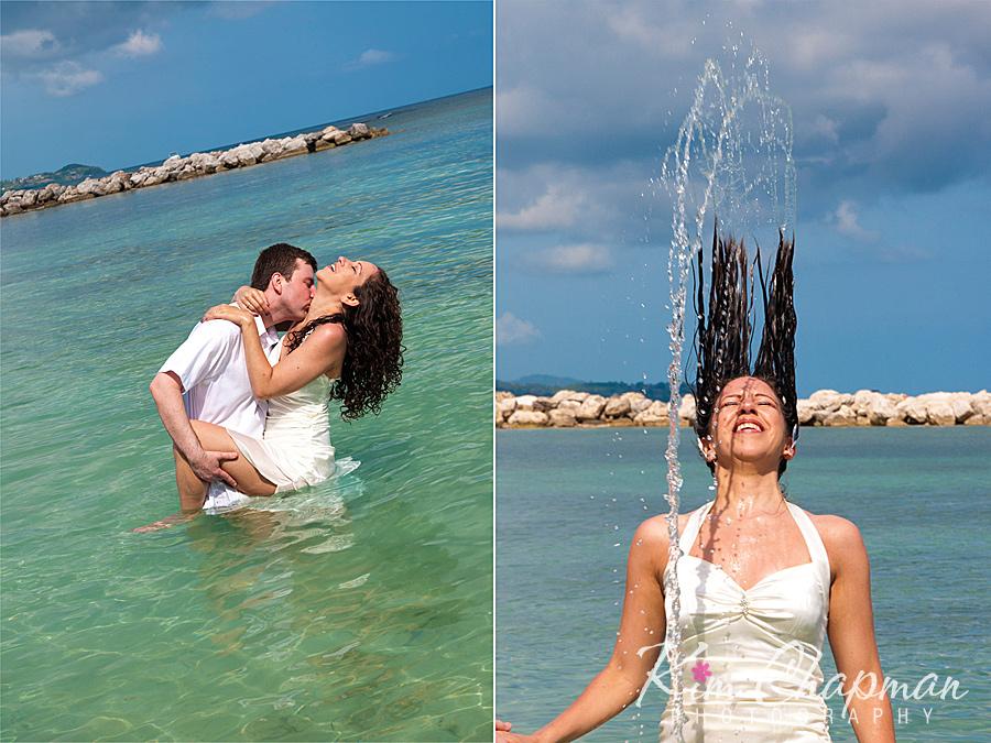 Sandra And Sylvain Sunset Beach Resort Montego Bay Jamaica